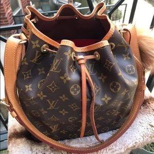 Louis Vuitton Vintage Petit Noe Bucket Bag